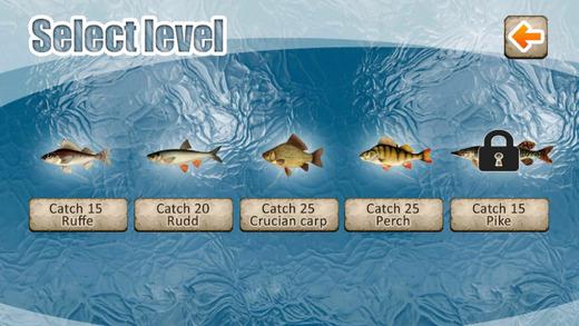 لعبة الصيد فى الغابة Winter Fishing 3D