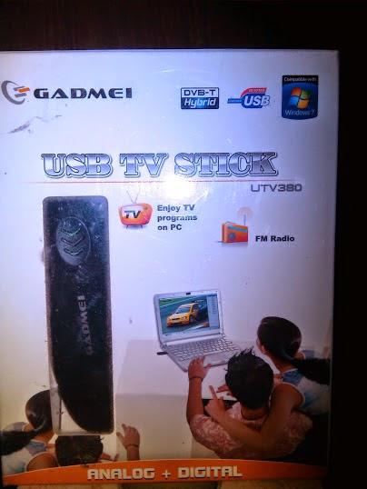 Drivers gadmei usb tv box utv + Windows 7 Download ()