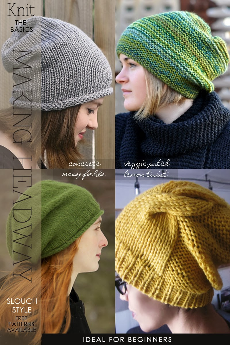 Free Hat Patterns For Knitting : DiaryofaCreativeFanatic