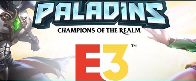 Paladins estará presente en el E3 DE 2018