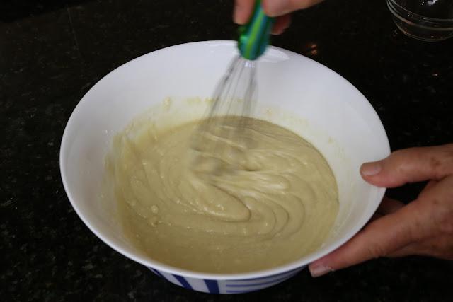 Preparación de la torta de Vélez