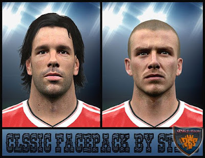 PES 2016 Manchester United Classic Facepack by Stels