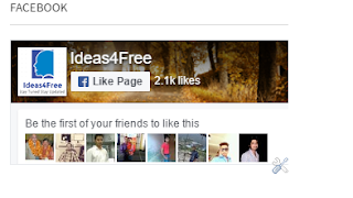 Facebook Page Plugin(Like Box) To Blogger