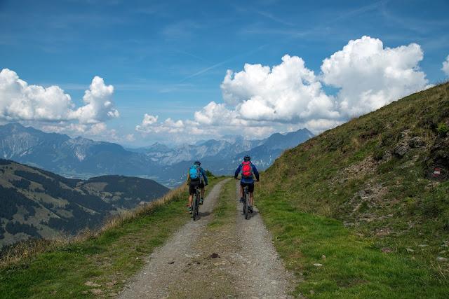 E-Bike Tour zum Statzer-Haus auf dem Hundstein  Region Hochkönig 16