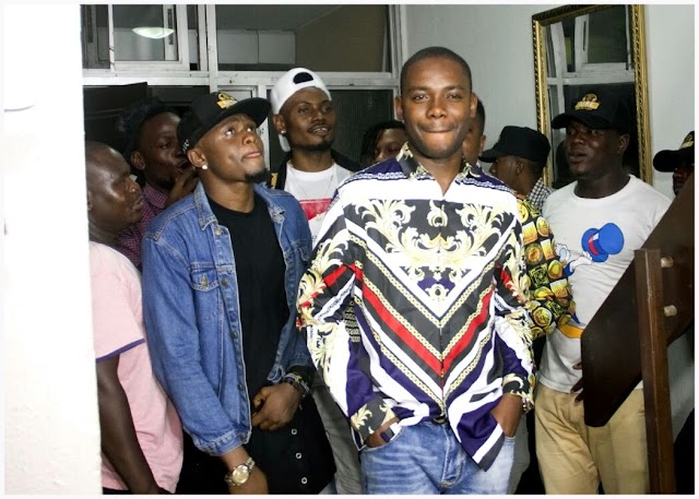 EMMI A (CEO MSE Gang) officially unvail his two (two) newly signed artist to during his birthday party in Victoria Island, Lagos.