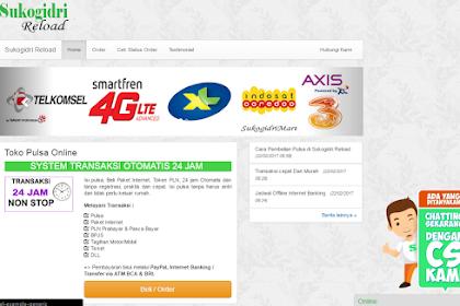 Download Script Web Toko Pulsa Online
