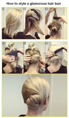 Royal Bun Hairstyle
