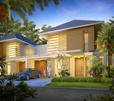 desain rumah minimalis 2 lantai luas tanah 180 - foto