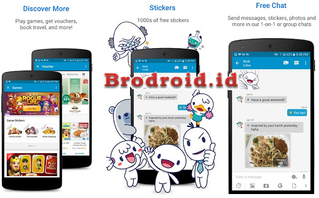 Download BBM Mod BBM2 + BBM3 + BBM4 Apk v3.3.4.48 Terbaru
