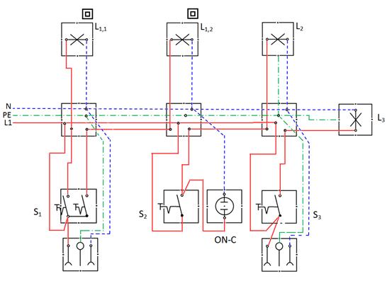 Lokasi jendela ilmu terdekat sistim pengaturan penerangan saklar seri diagram kerja ccuart Choice Image