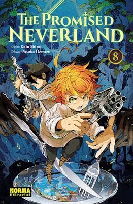 "Review de ""The Promised Neverland"" Vol. 7 y 8 de Posuka Demizu y Kaiu Shirai - Norma Editorial"