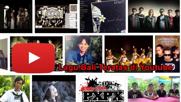 Lagu Bali yang Paling Banyak dicari di Youtube