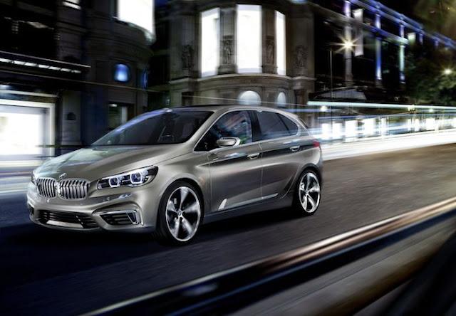 BMWコンセプトカー  Active Tourer.