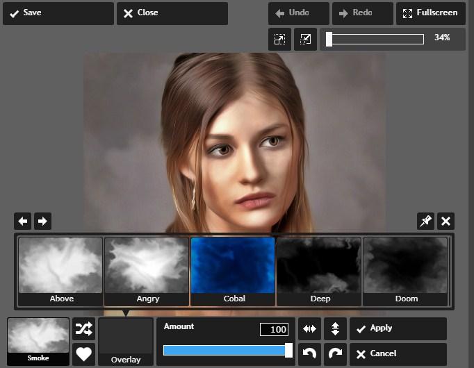 Efek Smudge Painting Secara Online