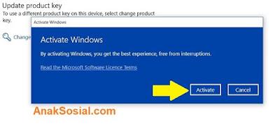 Aktifkan Windows 10 Permanen 3