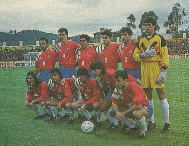 Formación de Chile ante Perú, Copa América 1993, 24 de junio