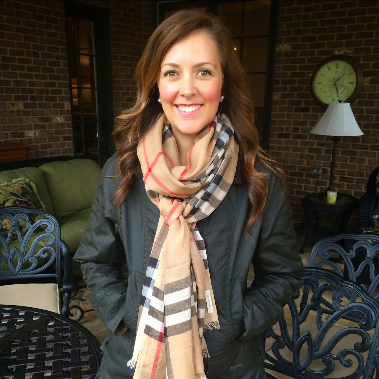 5901e6c2b Fashion Friday: A Barbour Jacket for Christmas + Fit/Sizing + Scarf ...