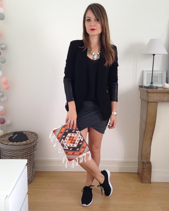 sport chic pauline dress blog mode lifestyle et d co besan on. Black Bedroom Furniture Sets. Home Design Ideas