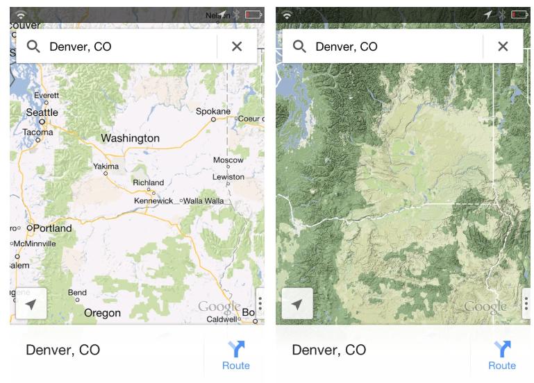 Cara Aktivkan Mode Topography Google Maps