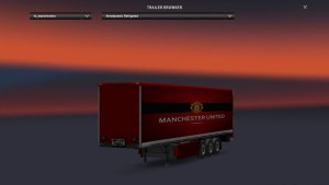 Trailer Manchester United