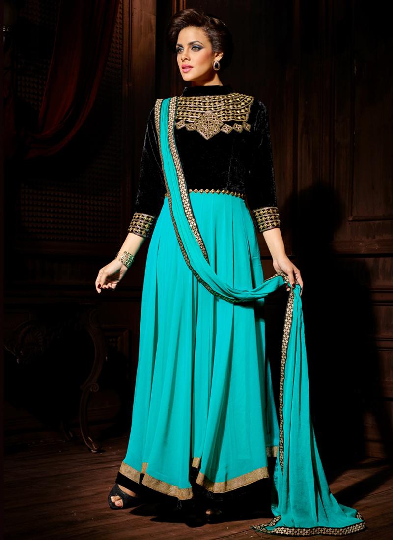 onlineshoppingindianwear: Buy Anarkali Suit Online