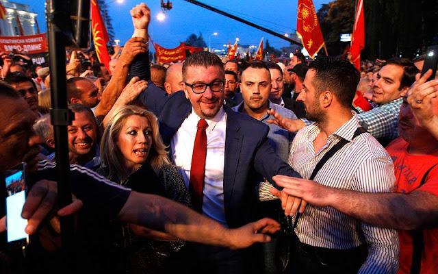 Μίτσκοσκι σε ΗΠΑ: «Ναι» στην ένταξη σε ΝΑΤΟ και Ε.Ε. αλλά όχι ως χώρα ταπεινωμένη