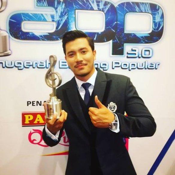 Fatah Amin Bintang Paling Popular ABPBH3.0 2017