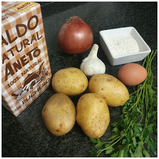 Ingredientes. Patatas a la importancia