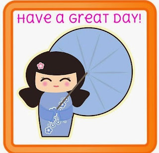 have a great day geisha umbrella