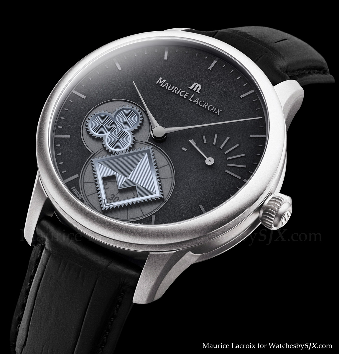 Watches By Sjx News Maurice Lacroix Masterpiece Roue Carrée Seconde For Only Watch 2017