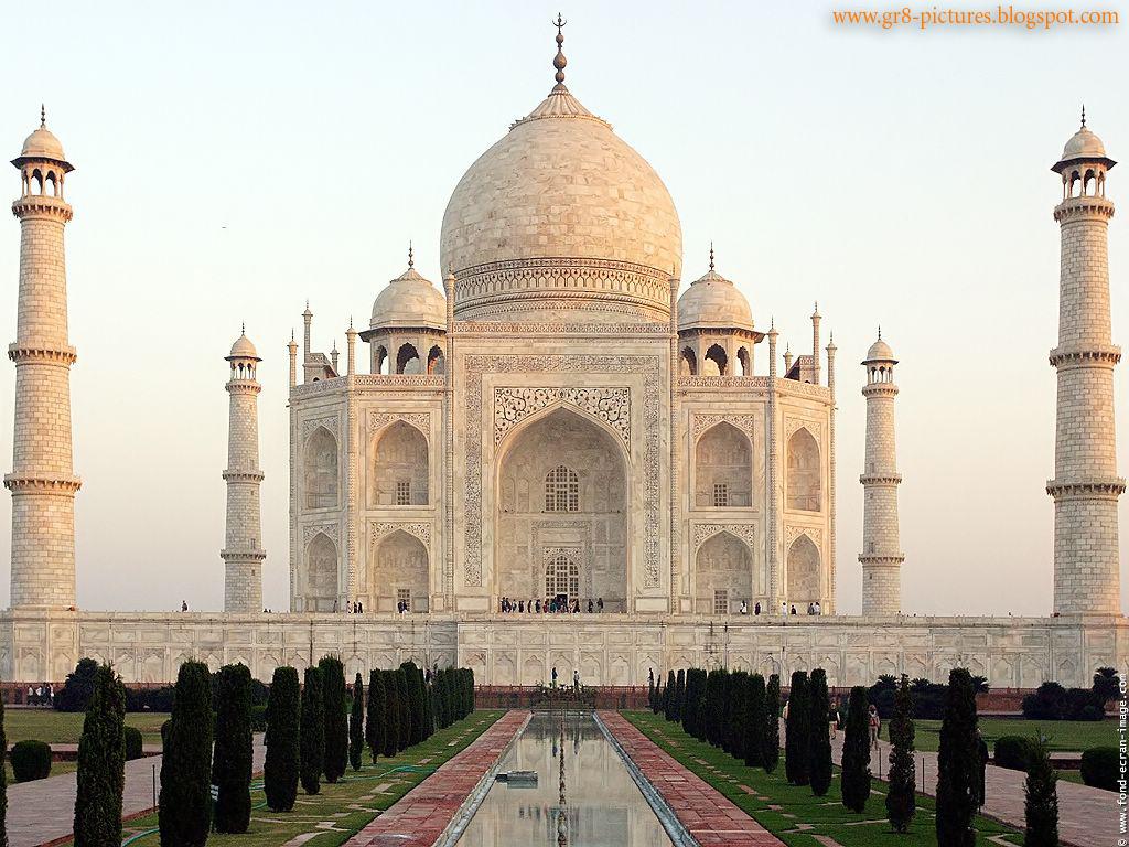 HD Wallpapers: Taj Mahal-India
