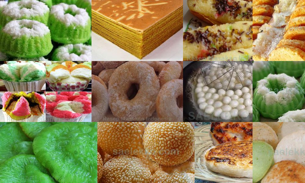 Belajar Masak Sendiri Berbagai Macam Resep Kue Basah