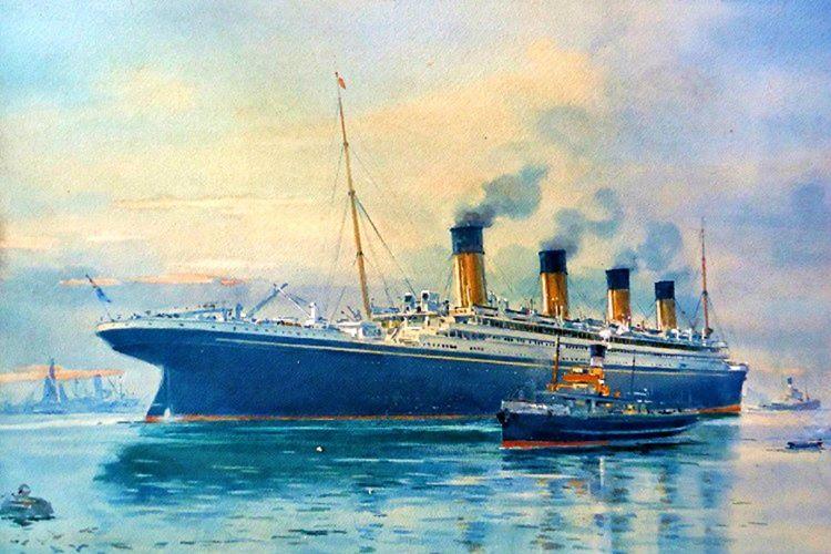 İlk gemi felaketini 1911 yılında RMS Olympic'de gördü, bir savaş gemisi Olympic'e vurdu.