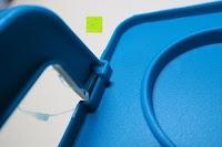 Knick: Andrew James – Verstellbarer Kuchentransportbehälter 2 Etagen – Hält Bis Zu Zwei Große Kuchen Oder 24 Cupcakes – Mit 2 Cupcake-Einsätzen – 2 Jahre Garantie
