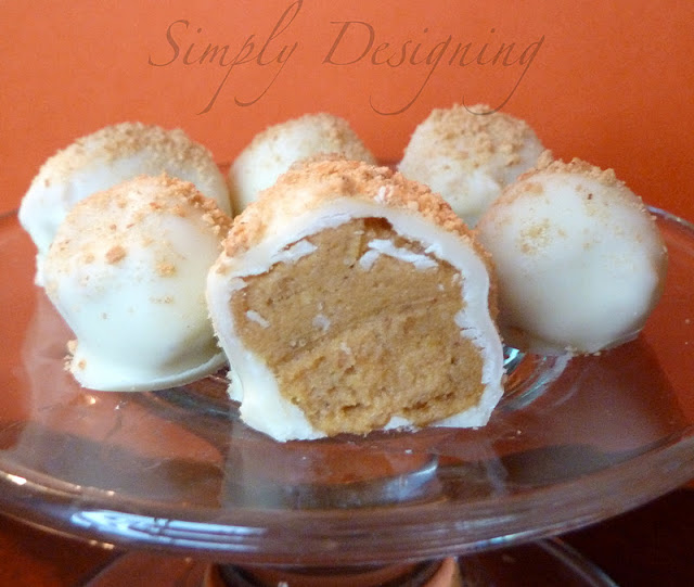 Pumpkin Truffles | #fall #recipes #pumpkin