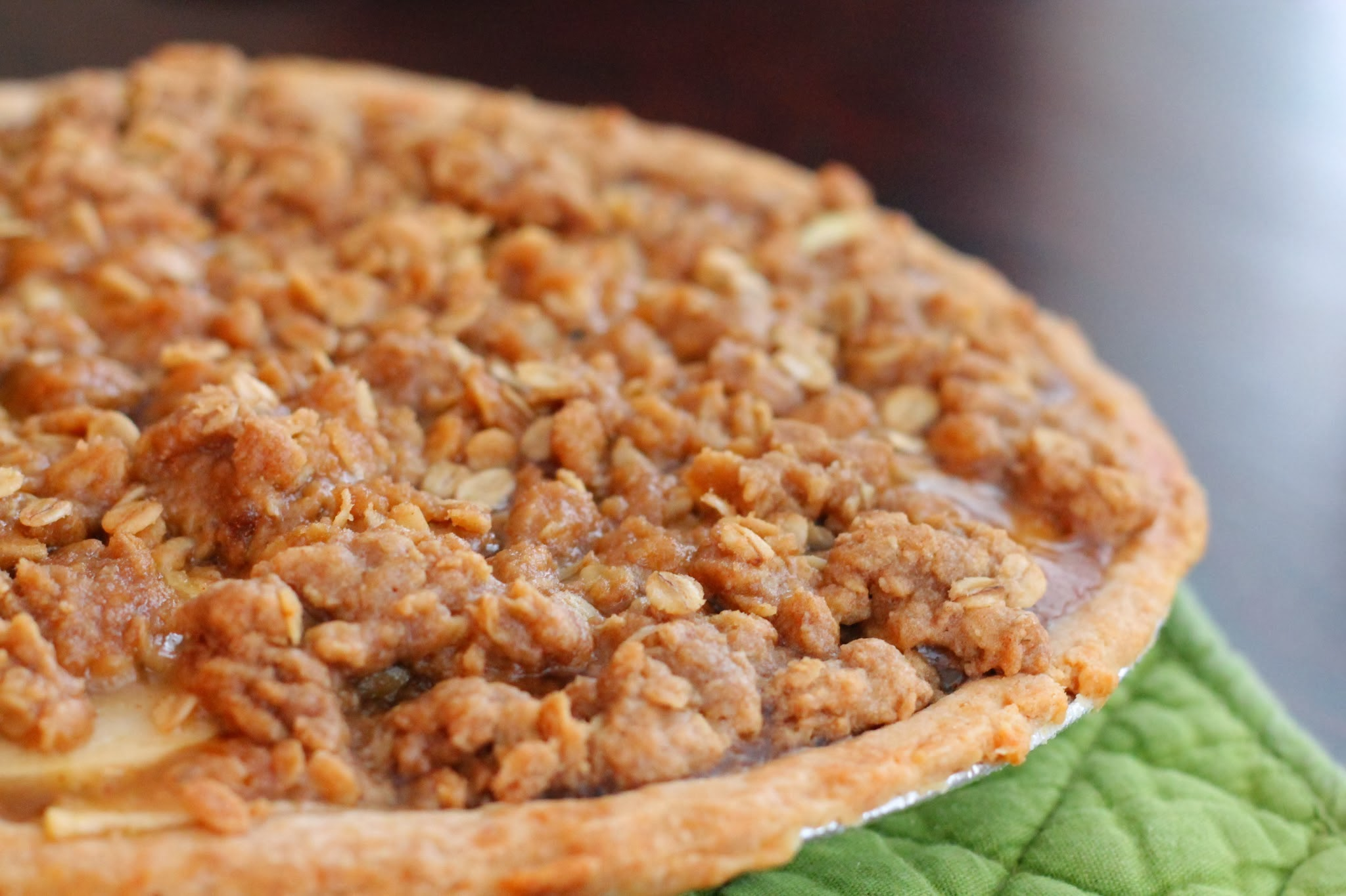 Recipe for Dutch Apple Pie