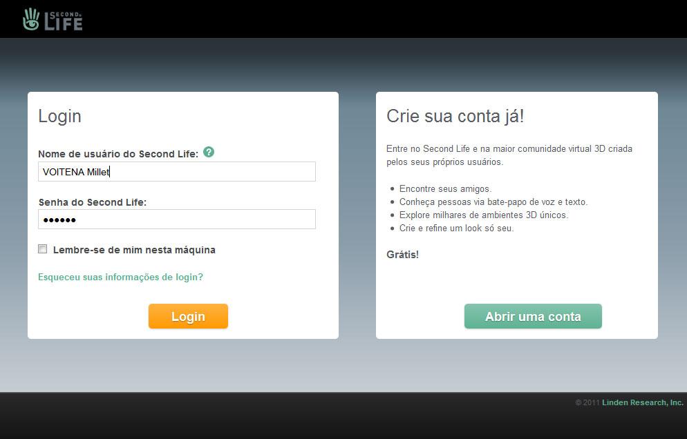 Tutoriais Second Life: ::: Editando Perfil no Viewer ...