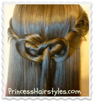Kate Middleton Inspired Half Up Hairstyle