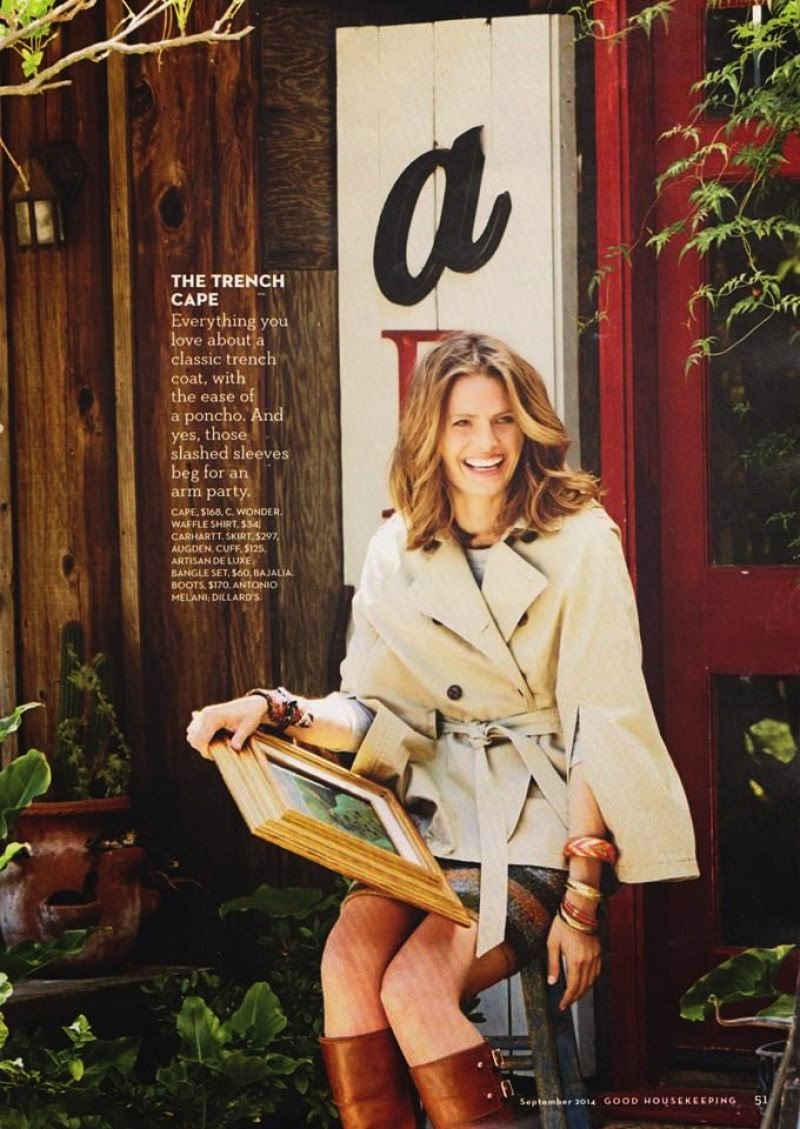 3090ace796c9 Stana Katic poses for Good Housekeeping Magazine September 2014