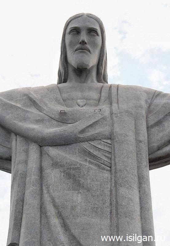 Статуя Христа-Искупителя (Cristo Redentor). Рио-де-Жанейро. Бразилия