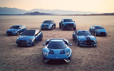 Δυνατές πρεμιέρες για τη Ford στην έκθεση αυτοκινήτων του Ντιτρόιτ
