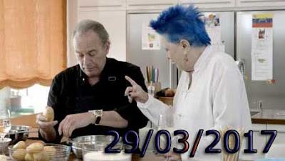 Lucia Bose con Bertin Osborne en Mi casa es la tuya