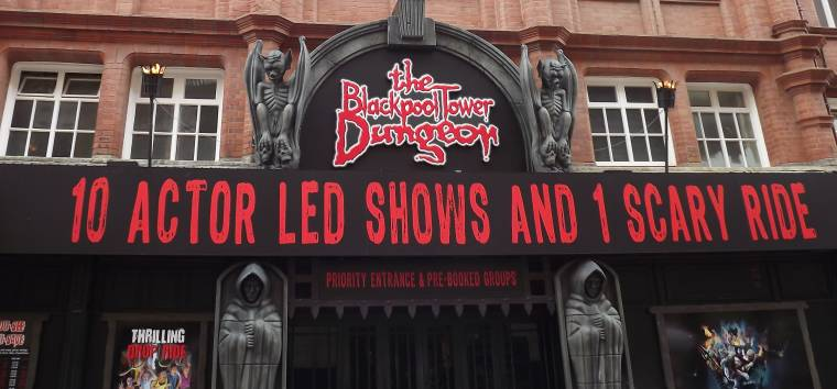 The Tower Dungeons Blackpool: Dare To Be Scared