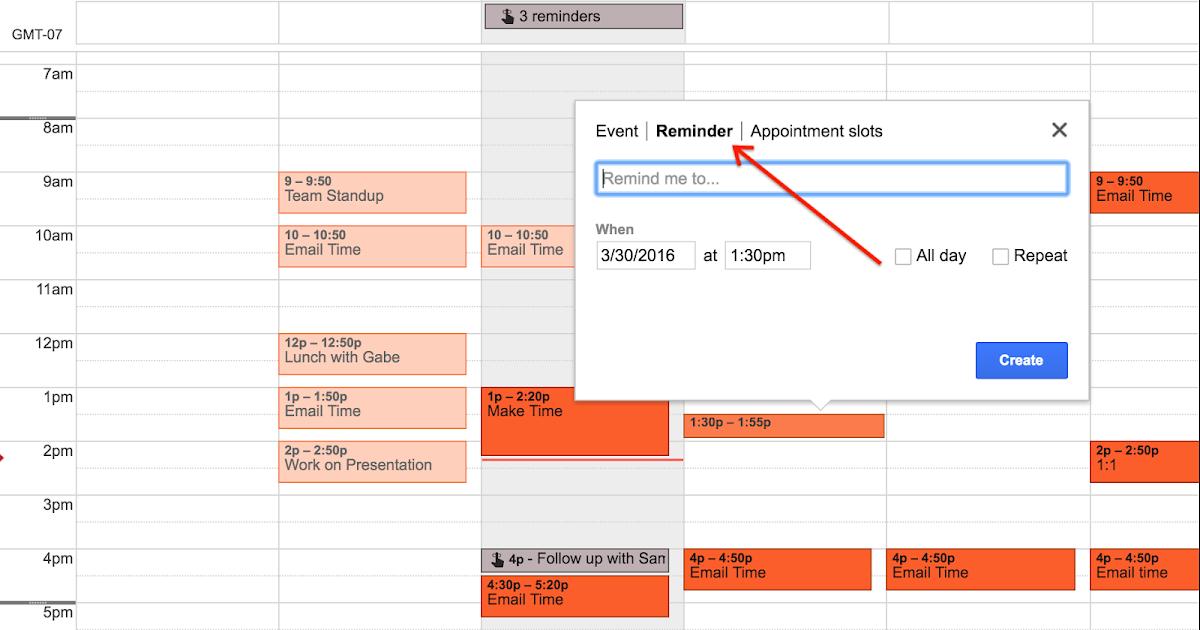 Calendar Reminder Design : Google apps update alerts launch of reminders for