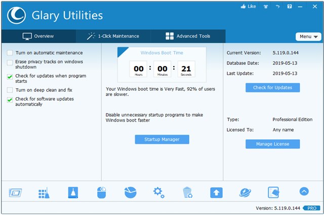 تفعيل برنامج Glary Utilities Pro Glary-Utilities+5.pn