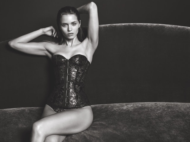 Abbey Lee Kershaw stars in Agent Provocateur's fall-winter 2016 campaign
