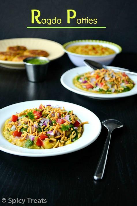 Spicy Treats: Ragda Patties / Aloo Tikki & Ragda Recipe