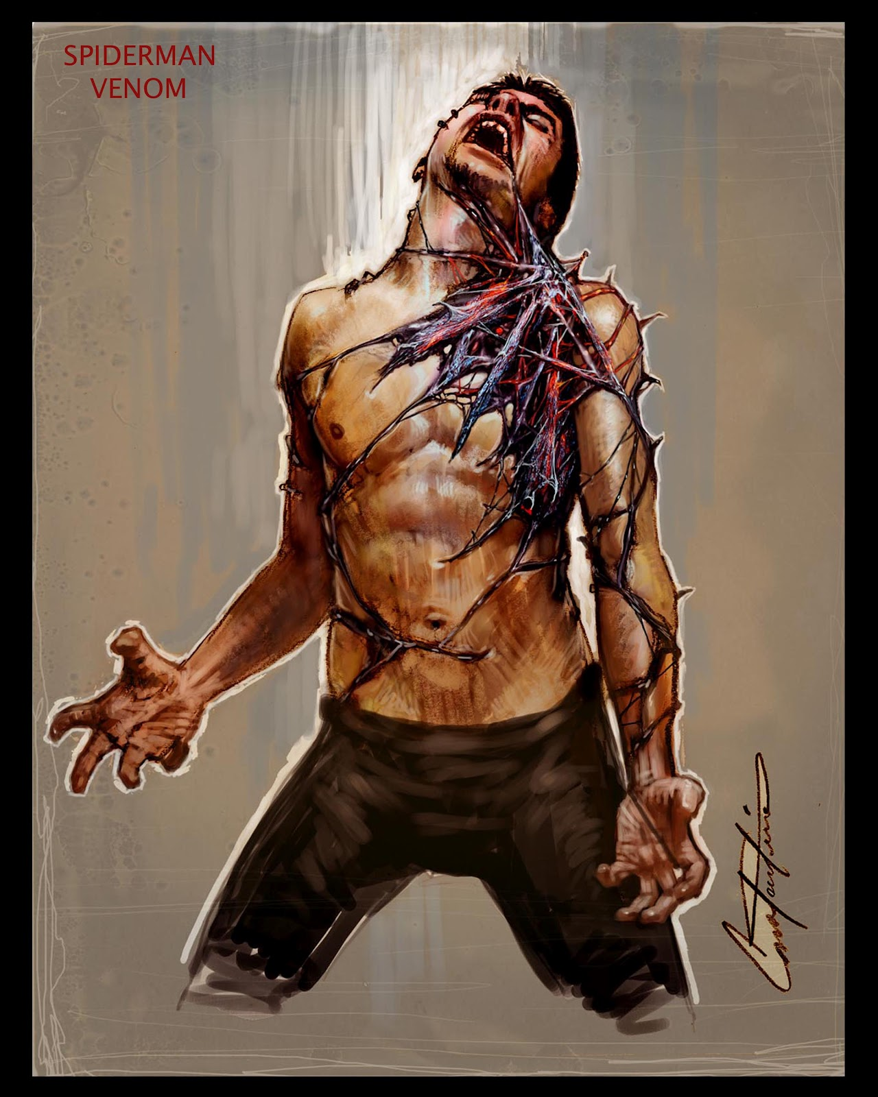 Constantine Sekeris Design Spiderman 3 Venom Concepts