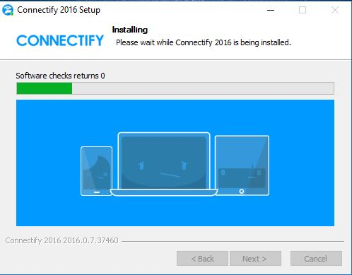 connectify turn on WiFi Hotspot in windows