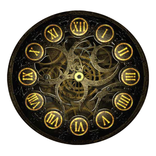 Steampunk pocket watch wallpaper